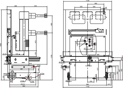 VH4-40.5系列高压真空断路器